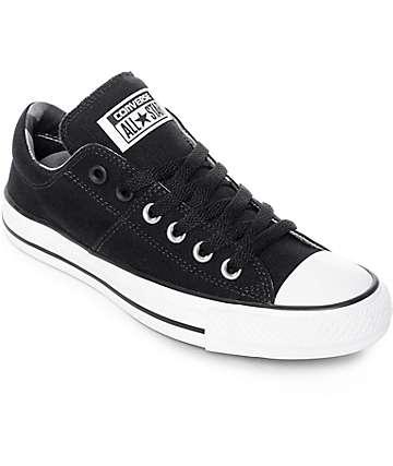 Converse Chuck Taylor All Star Ox Madison zapatos en blanco y negro