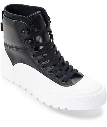 Converse Chuck Taylor All Star Tekoa Black & White Boots