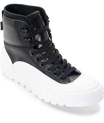 Converse Chuck Taylor All Star Tekoa botas en blanco y negro