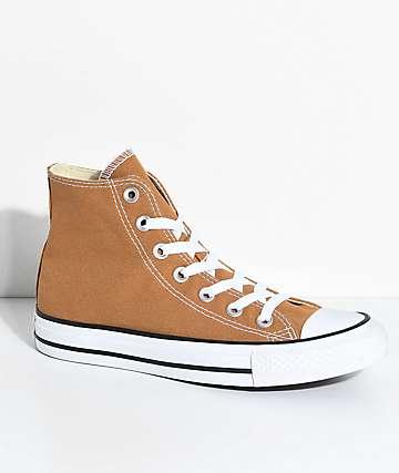 Converse Chuck Taylor Hi zapatos marrones