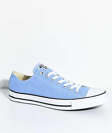 Converse Chuck Taylor zapatos en azul y blanco