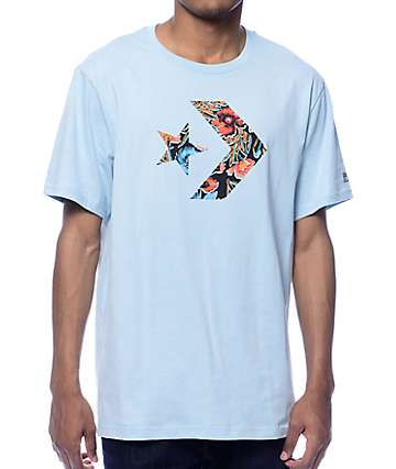 Converse Cons Star Chevron Bodega Blue T-Shirt