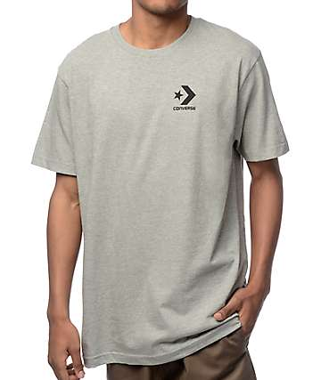 Converse Core Star Chevron Heather Grey T-Shirt