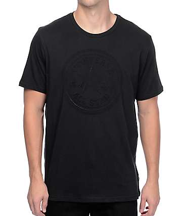 Converse Embossed Chuck Patch Black T-Shirt