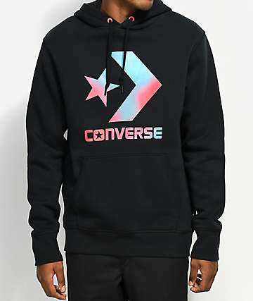 Converse Heat Map Chevron Black Hoodie