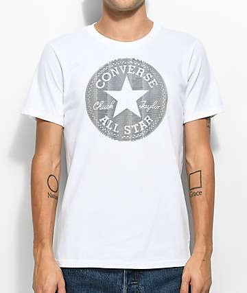 Converse Lenticular Chuckpatch White T-Shirt