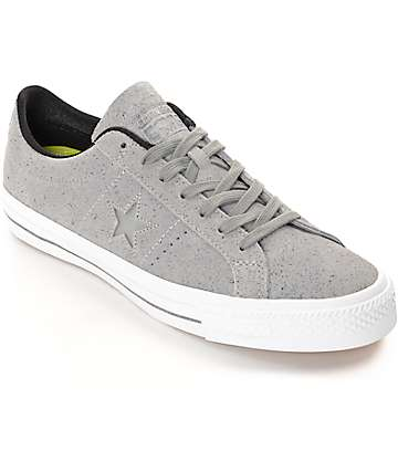Converse One Star Dolphin, Black, & White Skate Shoes