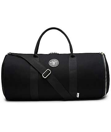 Converse Original Black Canvas Duffle Bag