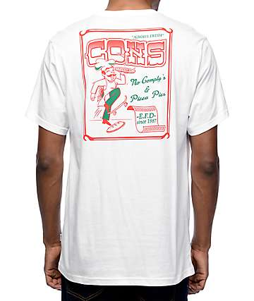 Converse Pizza White T-Shirt