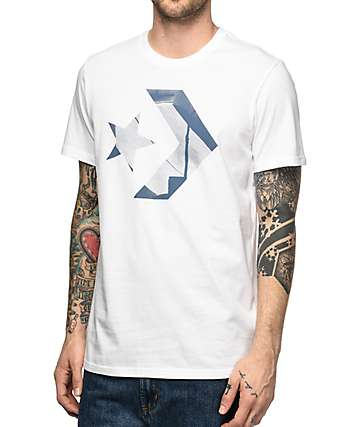 Converse Stash Logo White T-Shirt