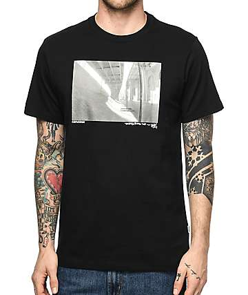 Converse Stash Photo Black T-Shirt