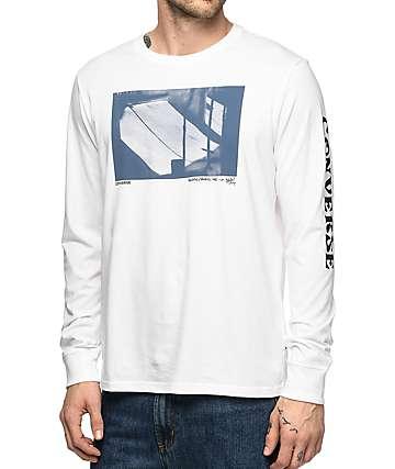 Converse Stash camiseta blanca de manga larga