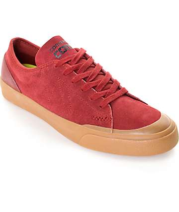 Converse Sumner Brick & Gum Skate Shoes