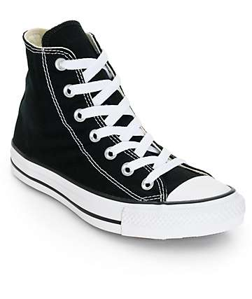 Converse Womens Chuck Taylor All Star Black High Top Shoes