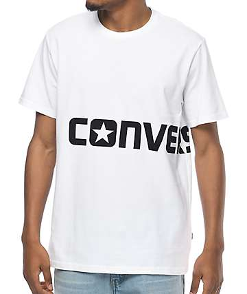 Converse Wrap Print White T-Shirt