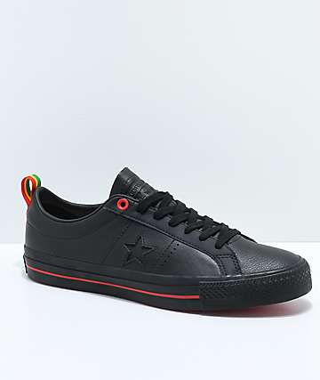 Converse x Eli Reed One Star Pro Black Skate Shoes