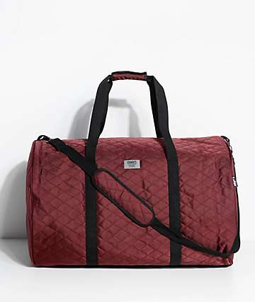 Cookies 1680 Quilted Burgundy Duffel Bag