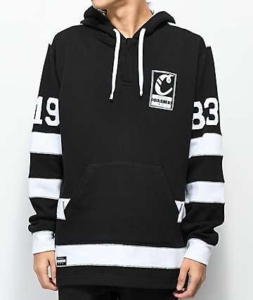 Cookies Alumni Hall Black Cotton Hoodie