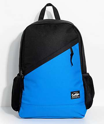 Cookies Basic Essentials Blue & Black Smell Proof Backpack