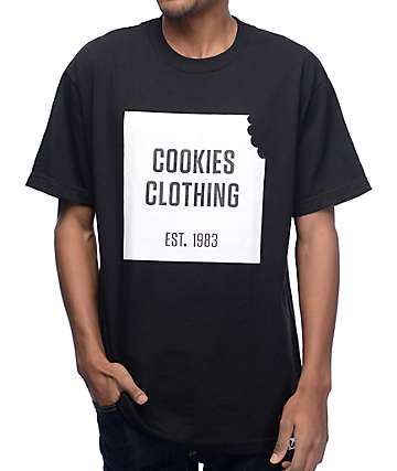 Cookies Boxed In Black T-Shirt