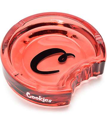 Cookies C-Bite Red Ashtray