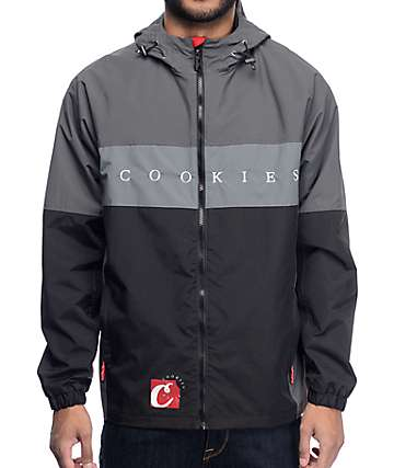 Cookies Carbon Fiber Black Nylon Jacket
