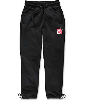 Cookies Carbon Fiber Black Sweatpants