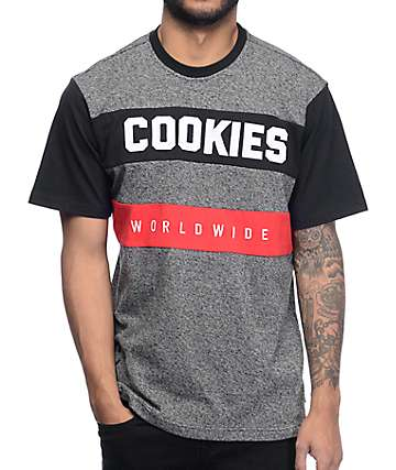 Cookies Carbon Pieced Jersey T-Shirt