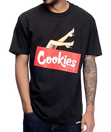 Cookies Cookies & Chill Black T-Shirt
