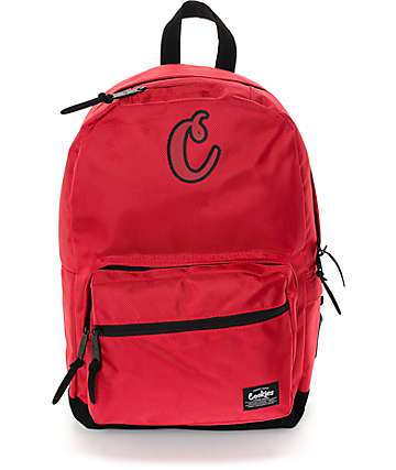 Cookies Daily Planner Smell Proof Red Backpack