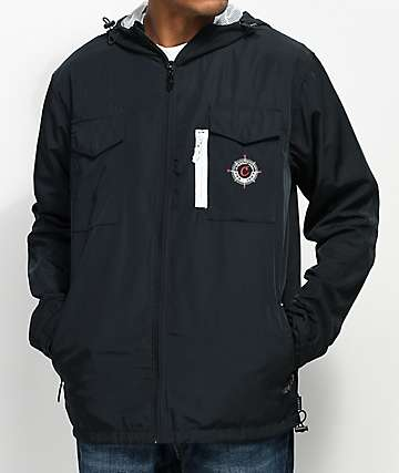 Cookies Expedition Black Full Zip Jacket