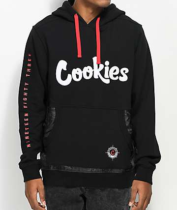 Cookies Expedition Black Hoodie
