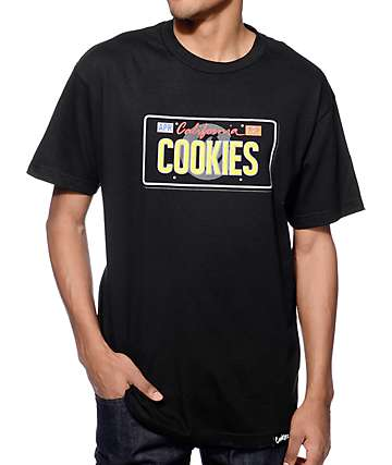 Cookies Personalized Black T-Shirt