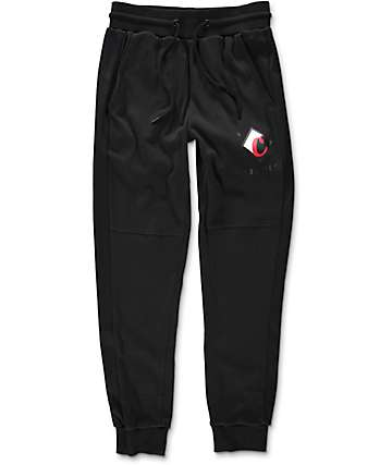 Cookies Ready For Flight Black Jogger Sweatpants