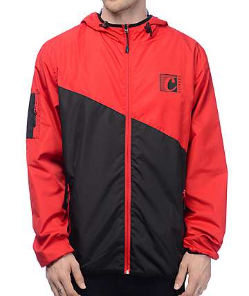 Cookies Ready For Flight Red & Black Windbreaker Jacket