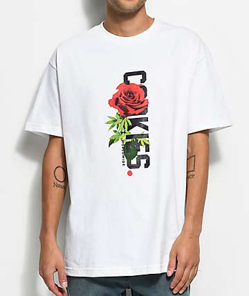 Cookies Rose To The Top White T-Shirt