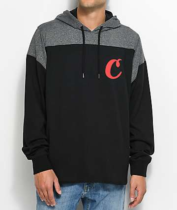 Cookies Rugby Division Pieced Black Hoodie