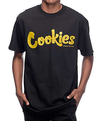 Cookies Thin Mint Black & Gold T-Shirt
