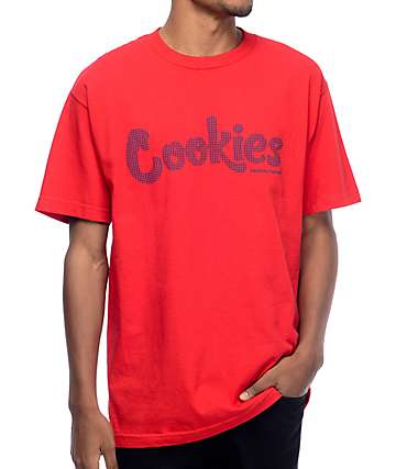 Cookies Thin Mint Hi Density Red T-Shirt