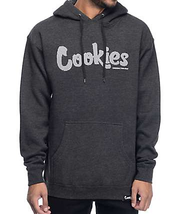 Cookies Thin Mint High Density Charcoal Hoodie