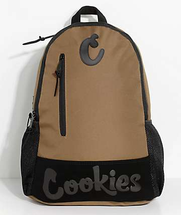 Cookies Thin Mint Moss Brown Smell Proof Backpack