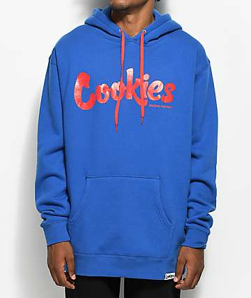 Cookies Thin Mint Royal Blue & Red Hoodie