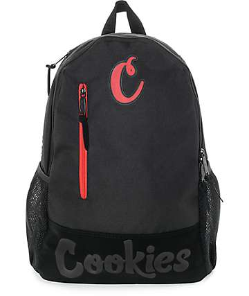 Cookies Thin Mint Smell Proof Black & Black Backpack