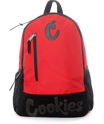 Cookies Thin Mint Smell Proof Red Backpack