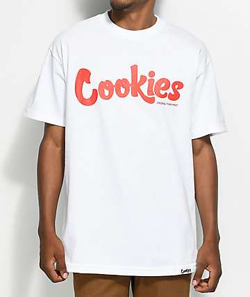 Cookies Thin Mint White & Red T-Shirt