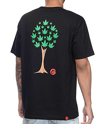 Cookies Trees On Trees Black T-Shirt