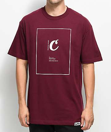 Cookies We C U Burgundy T-Shirt