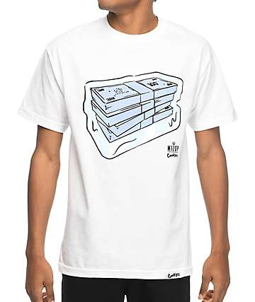 Cookies X Wizop So Icy White T-Shirt