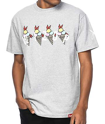 Cookies x Wizop 4 Tha Hard Way Grey T-Shirt