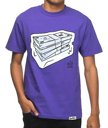 Cookies x Wizop So Icy Purple T-Shirt